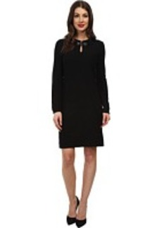Jones New York L/S Novelty Stretch Dress
