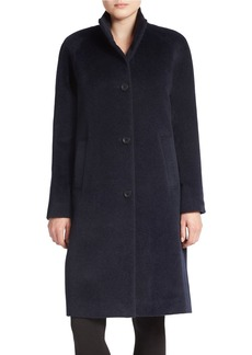 JONES NEW YORK Mockneck Coat