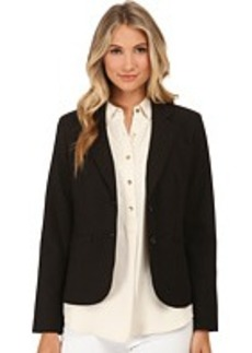 Jones New York Olivia Soild Two-Button Jacket