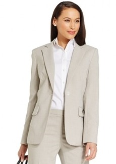 Jones New York One-Button Blazer