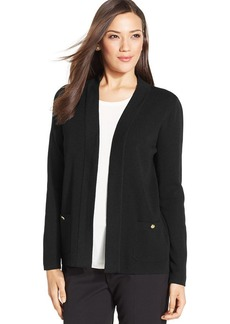 Jones New York Open-Front Pocket Cardigan