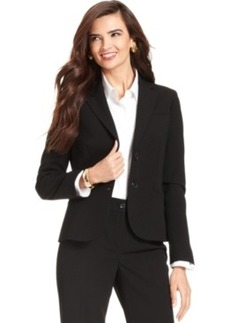 Jones New York Petite Jacket, Double-Button Blazer