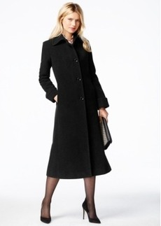 Jones New York Petite Wool Maxi Coat
