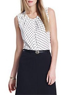 JONES NEW YORK Polka Dot Blouse