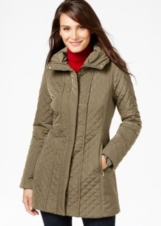 Jones New York Quilted Walker Coat