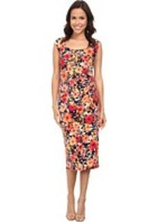 Jones New York Scoop Neck Dress