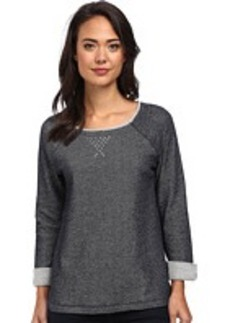 Jones New York Scoop Neck Pullover w/ Studs