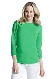 Jones New York Signature® Basic Solid Boatneck Knit Top