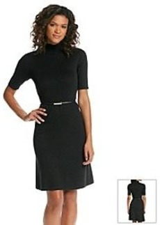 Jones New York Signature® Belted Sweater Dress