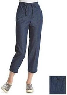 Jones New York Signature® Drawstring Denim Pants