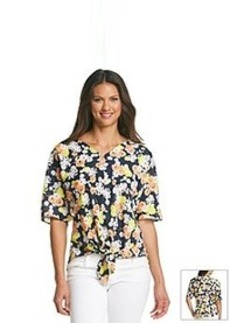 Jones New York Signature® Floral Print Blouse