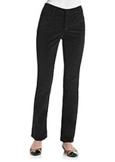 Jones New York Signature® Lexington Straight Leg Cord Pants
