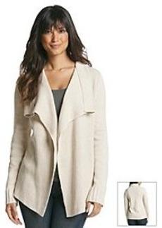 Jones New York Signature® Long Sleeve Drape Cardigan
