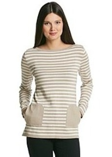 Jones New York Signature® Long Sleeve Tunic With Pockets
