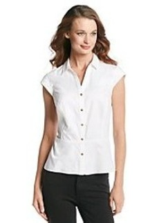 Jones New York Signature® Peplum Dobby Blouse