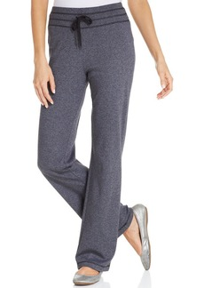 Jones New York Signature Petite Marled-Knit Drawstring Sweatpants