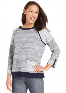 Jones New York Signature Petite Space-Dyed Active Top