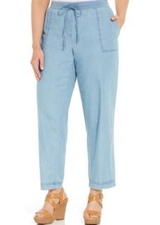 Jones New York Signature Plus Size Denim Soft Pants, Hampton Wash