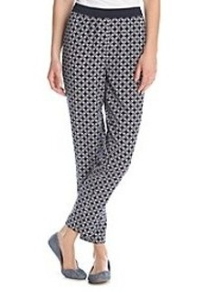 Jones New York Signature® Printed Crop Pant