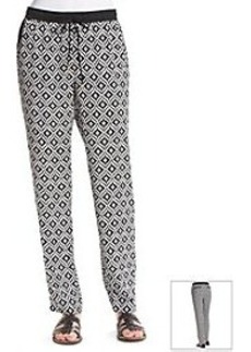Jones New York Signature® Printed Drawstring Pant