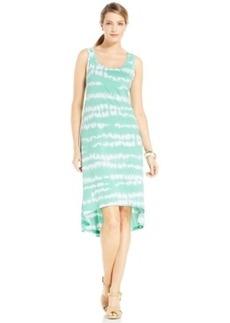 Jones New York Signature Printed Hi-Low Sheath Dress