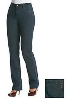 Jones New York Signature® Straight Leg Jean With Corner Bling