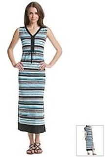Jones New York Signature® Stripe Maxi Dress