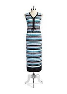 JONES NEW YORK Sleeveless Maxi Dress