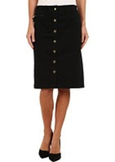 Jones New York Snap Front Pencil Skirt