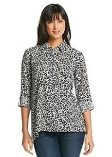 Jones New York Sport® Animal Print Shark Bite Tunic