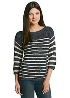 Jones New York Sport® Boatneck 3/4 Sleeve Sweater