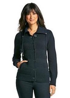 Jones New York Sport® Button Front Sweater
