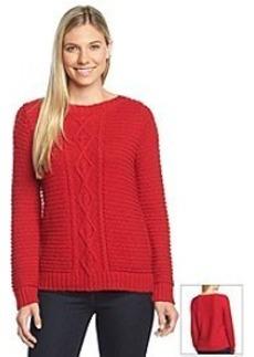 Jones New York Sport® Cable Stitch Sweater
