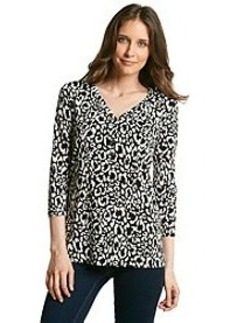 Jones New York Sport® Cheetah Print Tunic