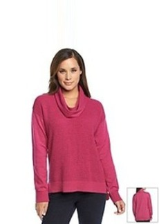 Jones New York Sport® Cowlneck High-Low Sweater