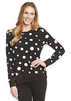 Jones New York Sport® Dot Print Sweatshirt