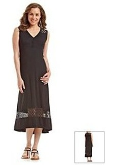 Jones New York Sport® Lace Trim Maxi Dress