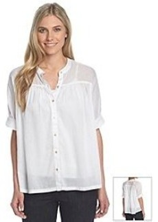 Jones New York Sport® Oversized Button-Up Shirt