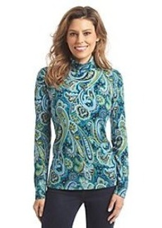 Jones New York Sport® Paisley Turtleneck Top