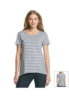 Jones New York Sport® Sharkbite Stripe Tee