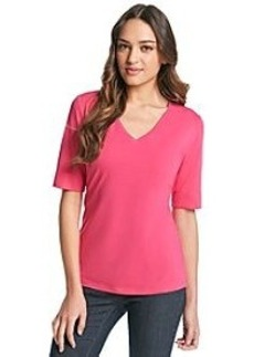 Jones New York Sport® Solid V-Neck