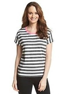 Jones New York Sport® Stripe Slub Tee