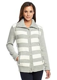 Jones New York Sport® Striped Stitched Sweater