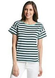 Jones New York Sport® Textured Stripe Tee
