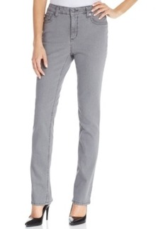 Jones New York Straight-Leg Jeans