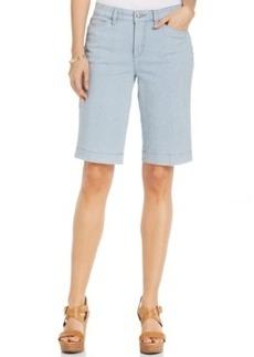 Jones New York Striped Bermuda Shorts