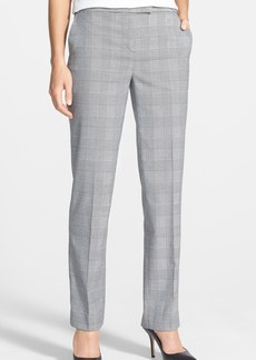 Jones New York 'Sydney' Slim Leg Plaid Pants