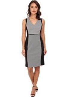 Jones New York V-Neck Sheath Dress