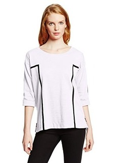 Jones New York Women's 3/4 Sleeve Pullover