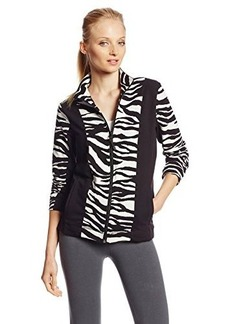 Jones New York Women's Animal Print Jacket